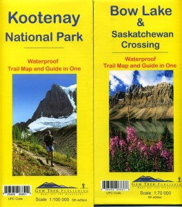 Two new Gem Trek editions released this summer. Printed on waterproof material, they are a welcome addition to the most attractive and accurate hiking maps for the Mountain Parks.