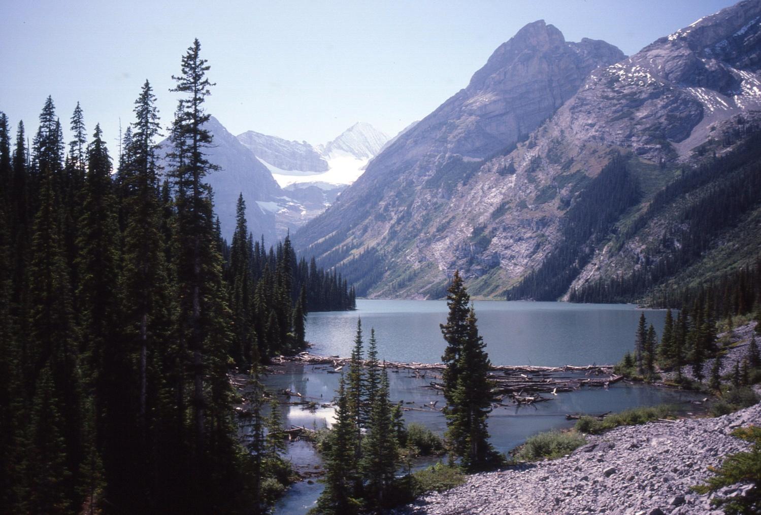 Elk Lakes' refurbished trail system