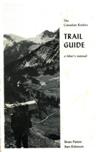 Canadian Rockies Trail Guide 1st edition