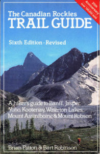 Canadian Rockies Trail Guide, 6th edition