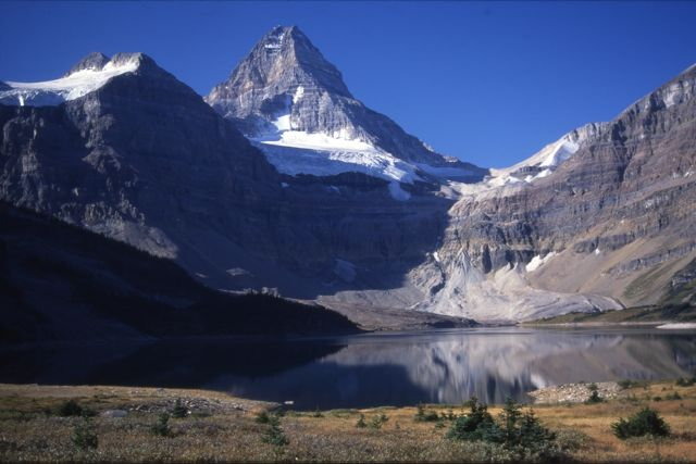 Reserving campsites at Mt Assiniboine