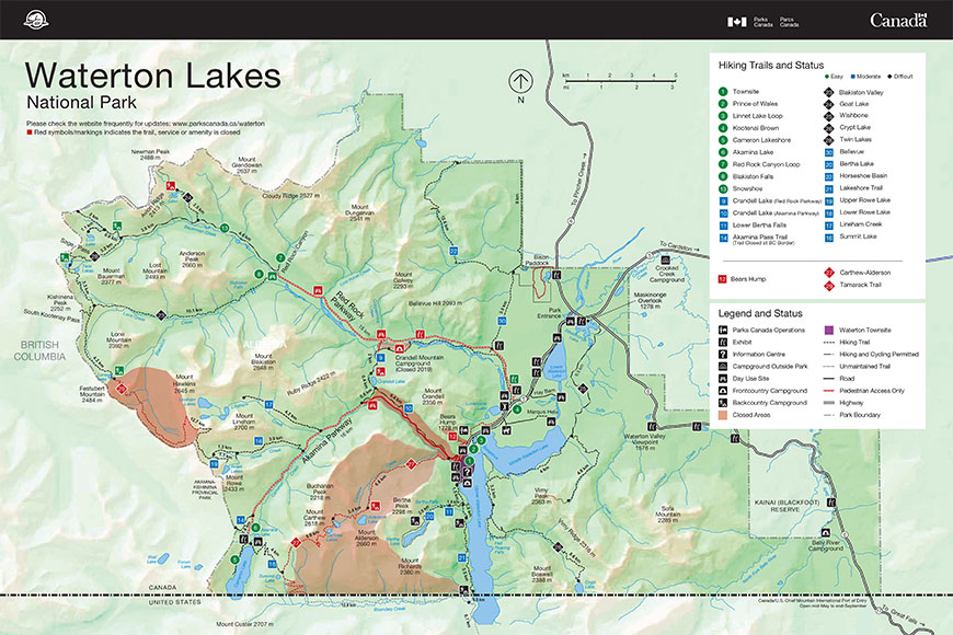 Waterton's bike-and-hike summer, 2019
