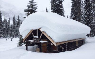 Snow pillows predict a late spring