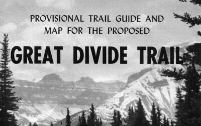 The Great Divide Trail—1970